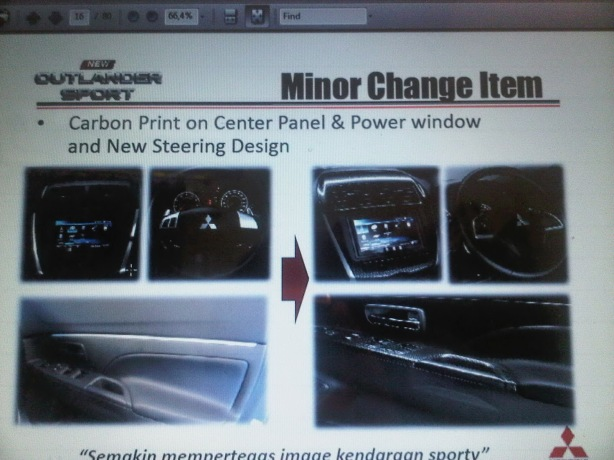 New Door Trim Turning Lamps &  Carbon Print on Center Panel and Power Window & New Steering Design